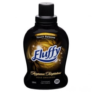 Fluffy Fragrance Temptations Fabric Softener Gold