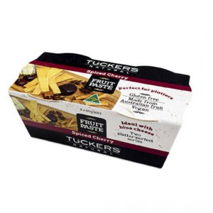 Tuckers Fruit Paste Spiced Cherry