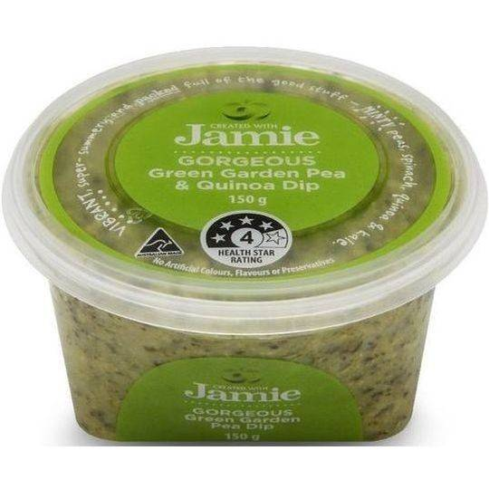 Created With Jamie Gorgeous Green Garden Pea & Quinoa Dip