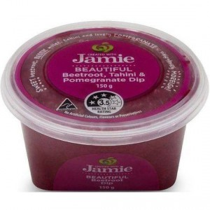 Created With Jamie Beautiful Beetroot Tahini & Pomegranate Dip