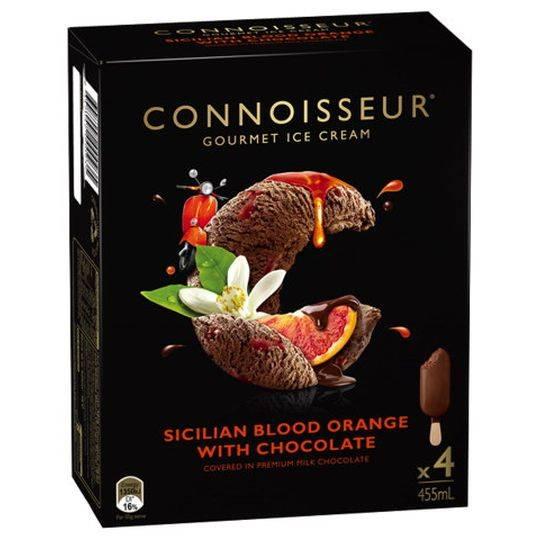 Connoisseur Ice Cream Sicilian Blood Orange Choc