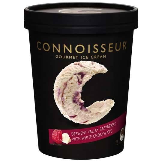 Connoisseur Ice Cream Raspberry White Chocolate