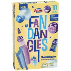 Peters Fandangles Ice Cream Bubblegum