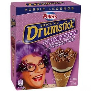 Peters Drumstick Ice Cream Glamington