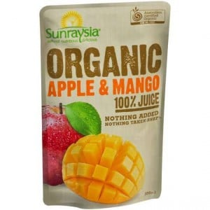 Sunraysia Organic Apple & Mango Juice