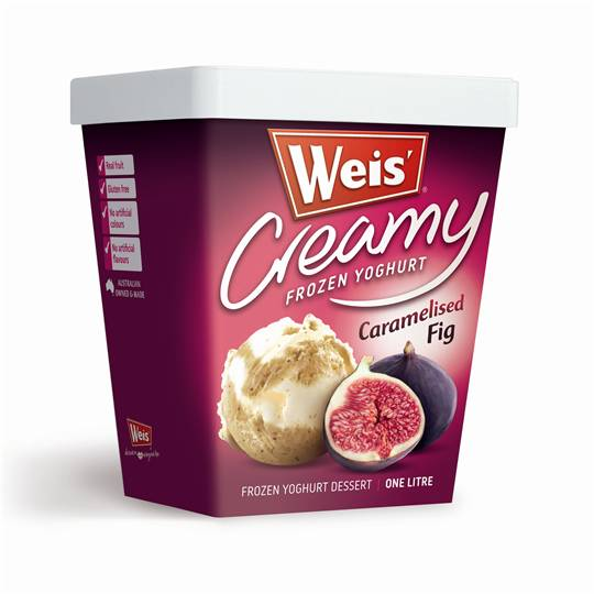 Weis Frozen Yoghurt Caramelised Fig