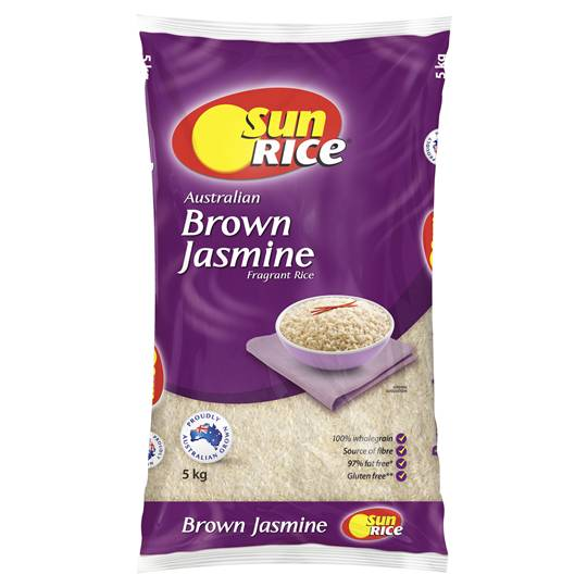 Sunrice Brown Jasmine Rice