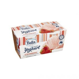 Bulla Frozen Yoghurt Strawberry