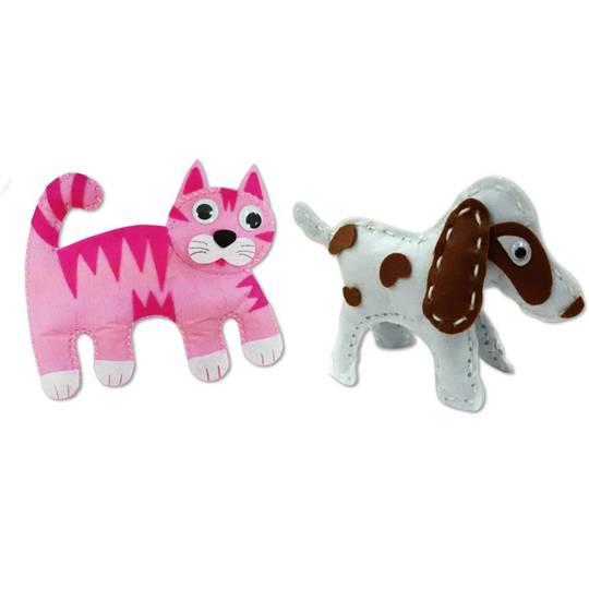 Make & Create Sewing Kit Dog & Cat