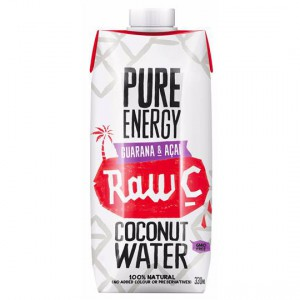 Raw C Coconut Water Pure Energy Guarana & Acai