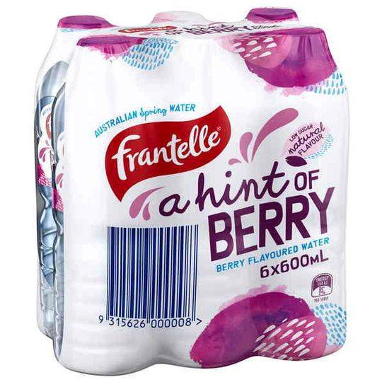 Frantelle Flavoured Water With A Hint Of Berry