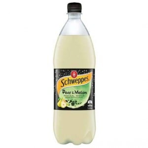 Schweppes Pear & Melon Mineral Water
