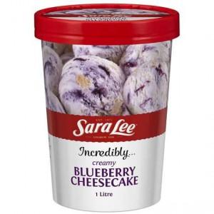 Sara Lee Ice Cream Cake Blueberry