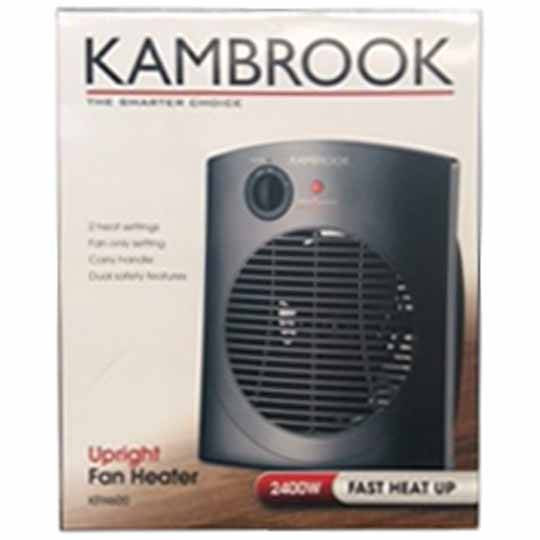 Kambrook Upright Fan Heater