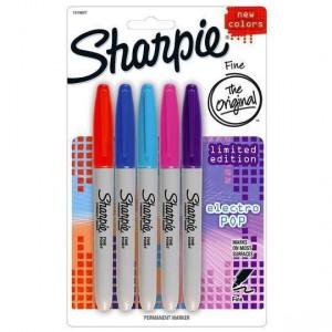 Sharpie Cd Marker Electro Pop Fine