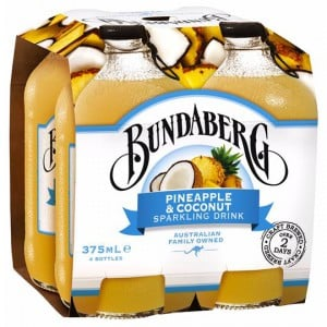 Bundaberg Pineapple & Coconut Sparkling Drink