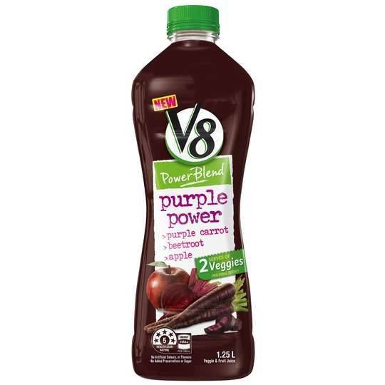 V8 Purple Power Vegetable And Fruit Juice