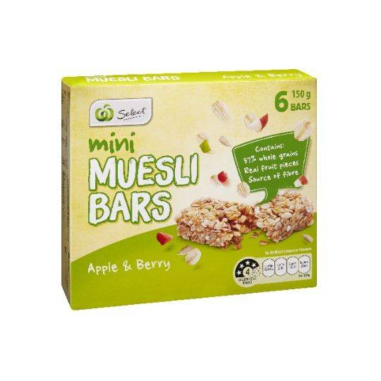 Select Muesli Bar Apple & Berry