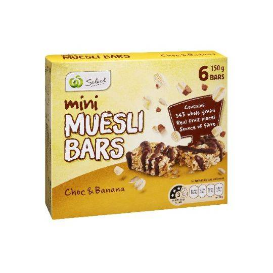 Select Muesli Bar Choc Banana