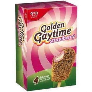 Streets Golden Gaytime Ice Cream Strawberry