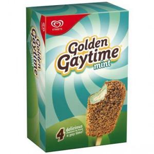 Streets Golden Gaytime Ice Cream Mint