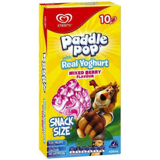 Streets Paddle Pop Ice Cream Mixed Berry Yoghurt