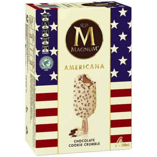 Streets Magnum Americana Ice Cream Chocolate Cookie Crumble