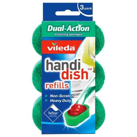 Vileda Handi Dish Dual Action Pack Refill