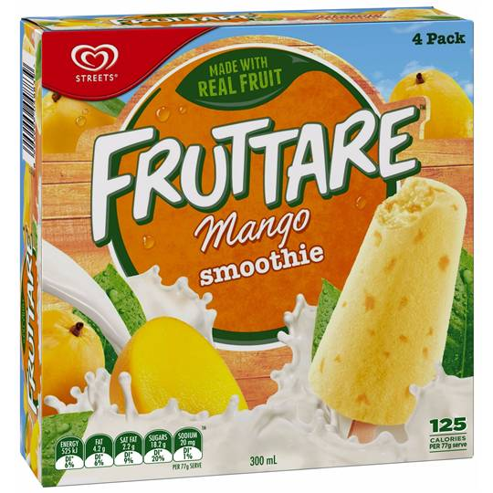 Streets Fruttare Fruit Smoothie Mango