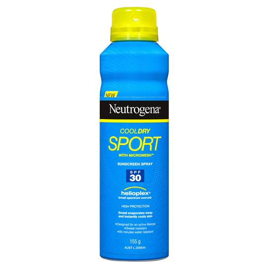 Neutrogena Cool Dry Sports Spf 30 Spray
