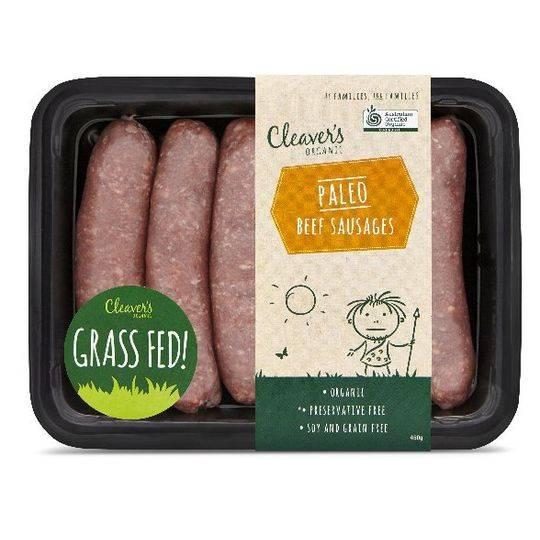 Cleaver's Organic Paleo Beef Sausage