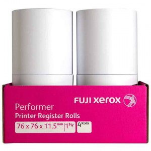 Fuji Xerox Register Rolls 76x76x11.5mm 1ply