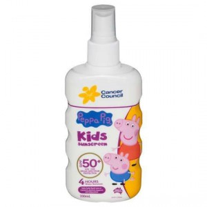 Cancer Council Peppa Pig Spf 50+ Finger Spray Lotion