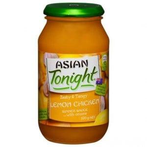 Asian Tonight Simmer Sauce Lemon Chicken