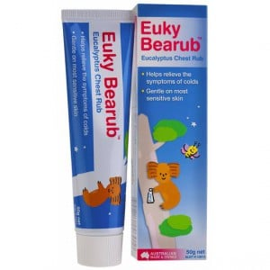 Euky Bearub Eucalyptus Chest Rub