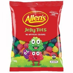 Allen's Jelly Tots Lollies
