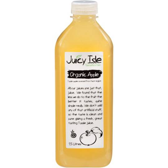Juicy Isle Organic Apple Juice