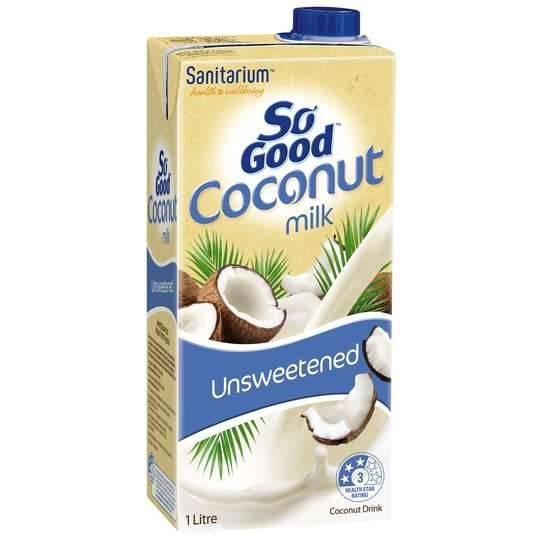 Sanitarium So Good Unsweetened Coconut Milk