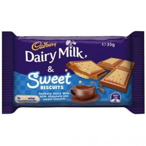 Cadbury Dairy Milk & Sweet Biscuits