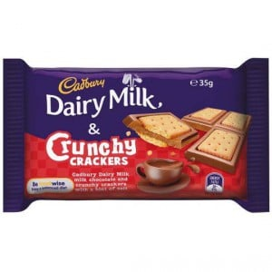 Cadbury Dairy Milk & Crunchy Crackers