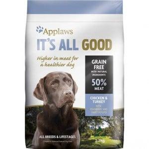 Applaws It's All Good Dry Dog Food Chicken & Turkey
