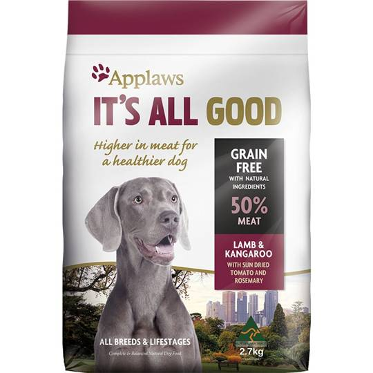 Applaws It's All Good Dry Dog Food Lamb & Kangaroo