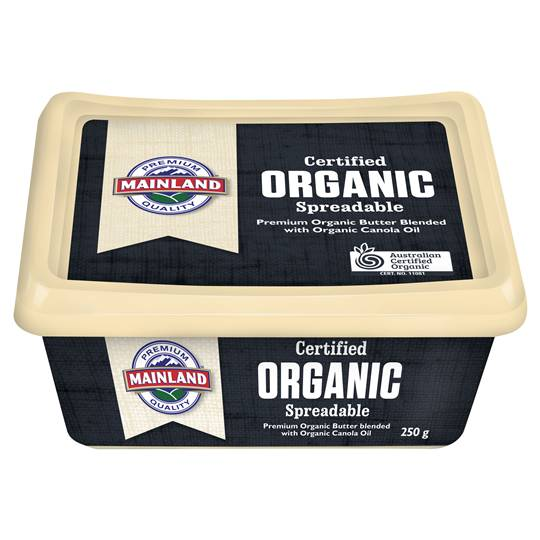 Mainland Organic Spreadable Butter