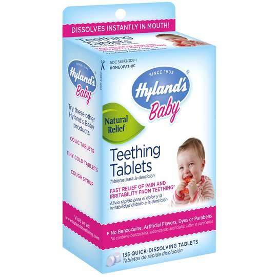 Hylands Baby Teething Tablets