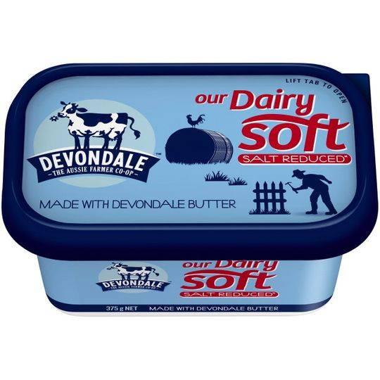 Devondale Dairy Soft Salt Reduced Butter
