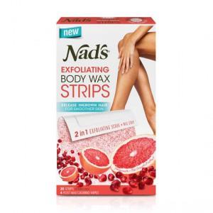 Nads Exfoliating Body Wax Strips