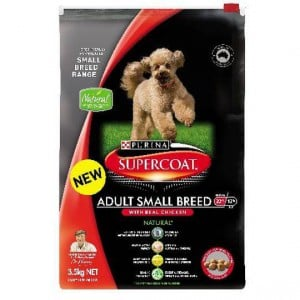 Purina Supercoat Adult Dog Food Small Breed Chicken