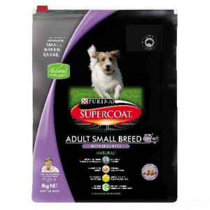 Purina Supercoat Adult Dog Food Small Breed Beef