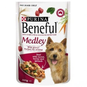 Beneful Beef Medley Pouch