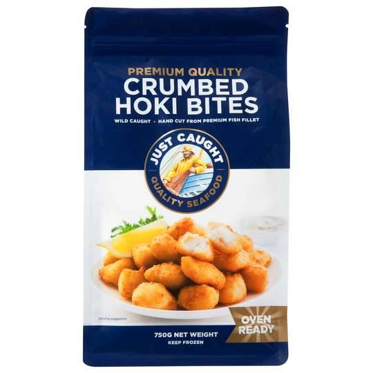 Just Caught Crumbed Hoki Bites